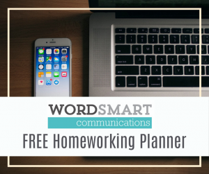 working from home planner